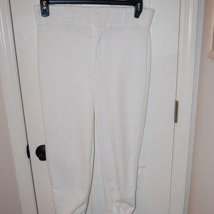 3 /$20 Bike White Baseball Pants Size Medium